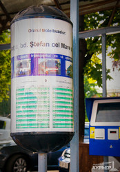 Как работает система общественного транспорта Кишинева (ФОТО)