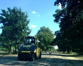 На севере Одесской области ремонтируют дорогу из Балты в Кривое Озеро (ФОТО)