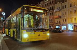 Тендер на поставку 100 троллейбусов в Киев состоялся лишь частично