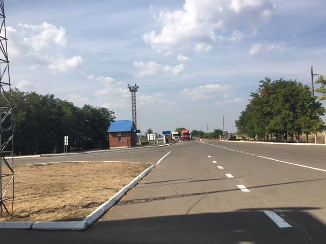 Участок дороги после ремонта