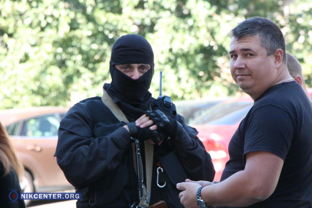 Обыски в Николаевском порту