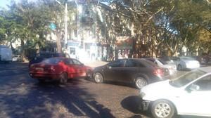 Пустяковая авария заблокировала троллейбусы в центре Одессы (ФОТО)