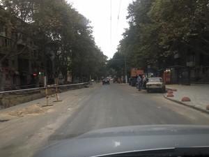 В Одессе частично открыли для движения улицу Сегедскую