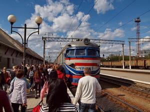 Юго-Западная железная дорога отменяет электрички в окрестностях Киева