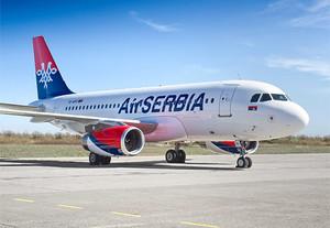 Air Serbia покидает Украину