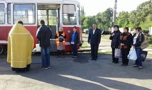 В прифронтовой Авдеевке восстановили движение трамваев (ФОТО)