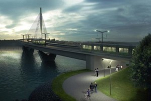 В Финляндии построят один из длиннейших трамвайно-пешеходных мостов в мире (ФОТО)
