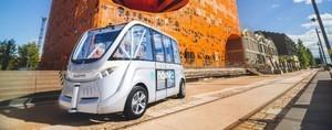 Во Франции тестируют беспилотные пассажирские автобусы