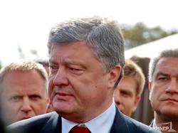 Визит Петра Порошенко в Одесскую область