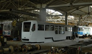 Запорожские и харьковские транспортники хотят собирать новые трамваи по одесскому образцу