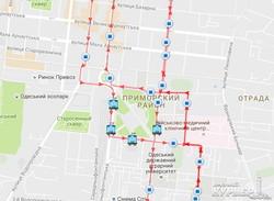 Последствия урагана в Одессе: полсотни трамваев и троллейбусов остались ночевать на улицах