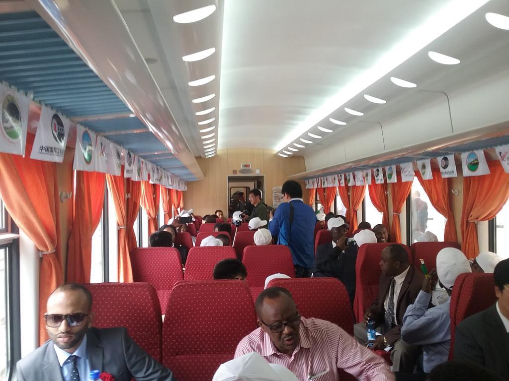 Первая в Африке электрифицированная железнодорожная магистраль