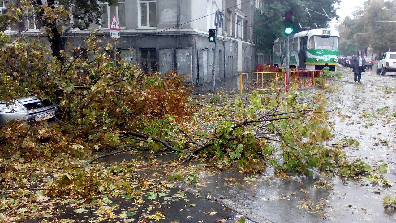 Ураган в Одессе