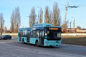 В тендере на поставку троллейбусов в Чернигов победил местный производитель