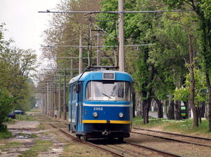 В Одессе таки запустили после урагана трамвай на Пересыпи