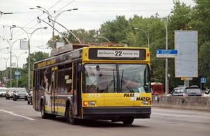 В Киеве будут строить новую линию троллейбуса от Теремков в аэропорт Жуляны