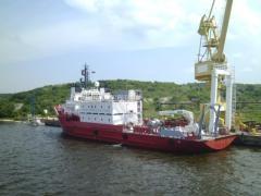 В Черном море начинает работу украинская экспедиция по поиску нефти и газа около устья Дуная