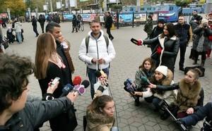На одесском вокзале поздравили двухмиллионного туриста