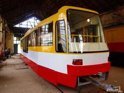 новый одесский трамвай