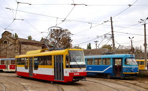 В Одессе построили очередной новый трамвай (ФОТО)