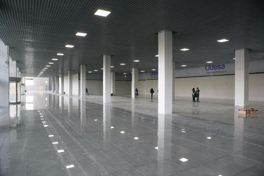 Международный аэропорт Одесса опубликовал первые фото помещений нового терминального комплекса