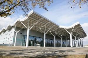 Как выглядит недостроенный терминал Одесского аэропорта изнутри (ФОТО)