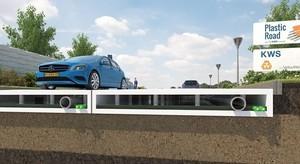 В Нидерландах построят первую в Европе пластиковую автомобильную дорогу