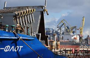 Одесский порт, несмотря на падение грузооборота, увеличивает перевалку контейнеров
