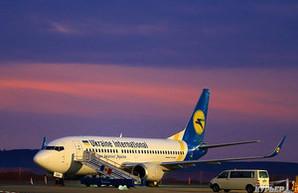 Украинские авиакомпании с начала года увеличили пассажиропоток на 27,5%