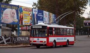 Николаев планирует при поддержке Европейского банка реконструкции и развития приобрести 40 троллейбусов