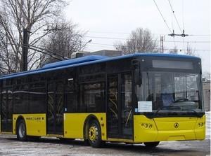 Запорожье приобретет 25 троллейбусов за 5 млн. евро
