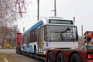 В Днепр привезли стильный белорусский троллейбус (ФОТО)