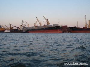 В порту Николаева появился частный железнодорожный грузовой терминал