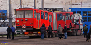 В Черновцы начали привозить подержанные чешские троллейбусы (ФОТО)