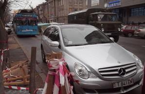 Одесская полиция будет оперативно расчищать маршруты городского транспорта от автохамов
