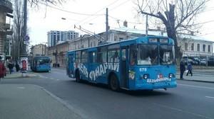 В Одессе не ходят некоторые троллейбусы