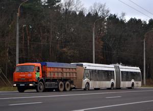 В Ровно начали испытывать гибридный троллейбус с дизельным генератором (ФОТО)