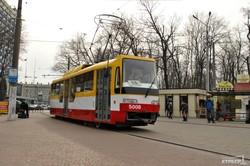 На одесский Фонтан запустили низкопольный трамвай (ФОТО)