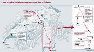 Швейцария завершила строительство железнодорожного тоннеля в Альпах под перевалом Сен-Готард