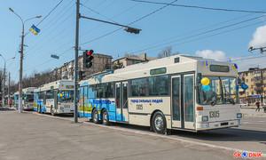 Мариуполь в этом году остается без новых троллейбусов