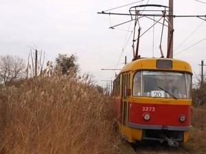 """В Одессе стоят вагоны знаменитого """"камышового трамвая"""""""