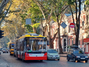 Одесский горсовет ратифицировал кредитный договор на новые троллейбусы