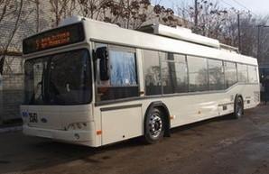 """В Кропивницкий поступили первые троллейбусы """"Днипро"""""""