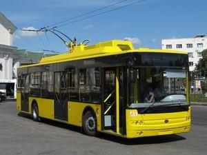 """Автомобильная компания """"Богдан Моторс"""" поставила в Киев 21 троллейбус"""