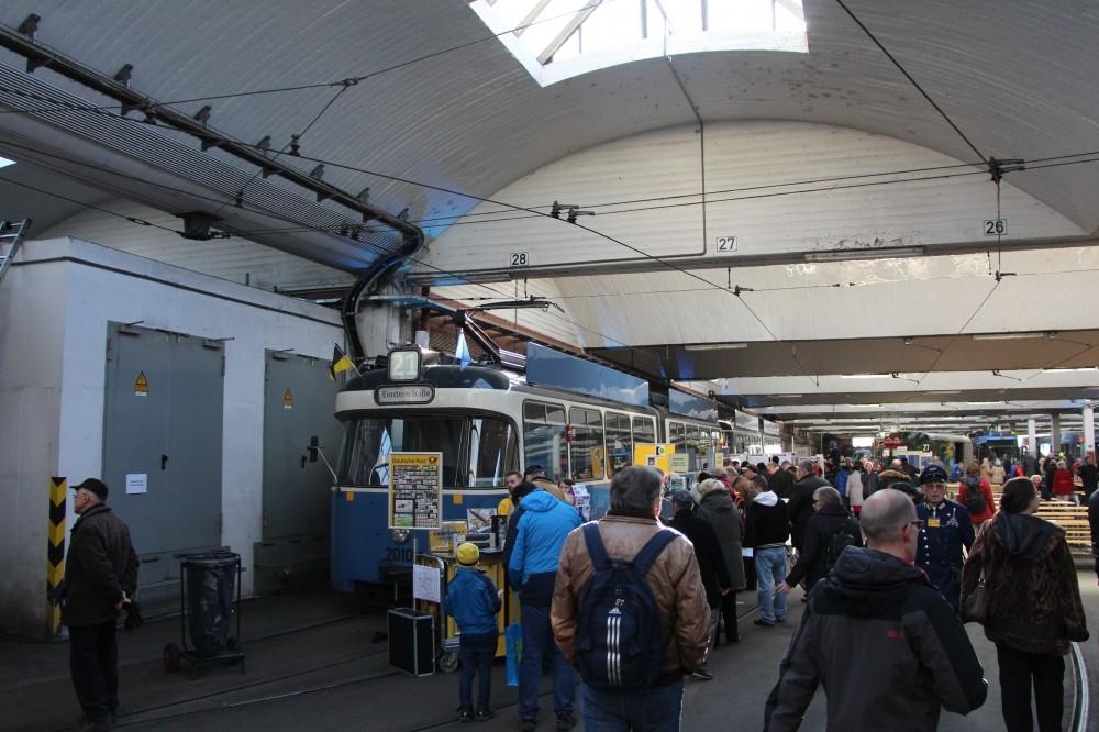 Трамвайное открытие в Мюнхене