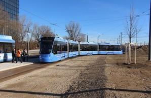 В Мюнхене окрыли новую трамвайную линию