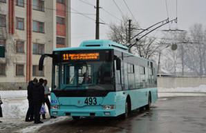 В Чернигове на день Святого Николая запустили новую линию троллейбуса (ФОТО)