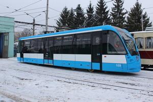 В Виннице представили самый короткий низкопольный трамвай VinWay (ФОТО)