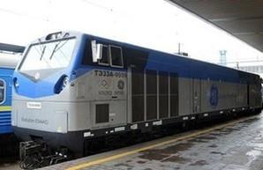 В Молдове проходят испытания дизельного локомотива General Electric