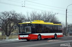 одесский троллейбус богдан